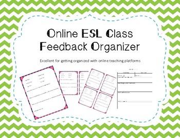 ESL + VIP + Online Teaching Platform Feedback Organizer