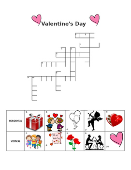 ESL Valentine's Day Crossword