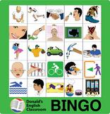 Verb Bingo 1