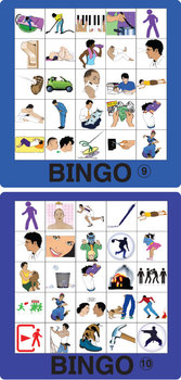 ESL Verb Bingo 2