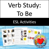 ESL Verb Practice:  To Be