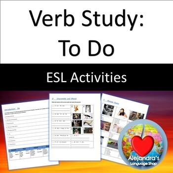 ESL Verb Practice:  To Do