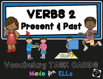 ESL Verb Task Cards #2