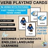 ESL EFL Grammar Verb Tense Memory Game