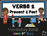 ESL Verb Vocabulary Board Game #2