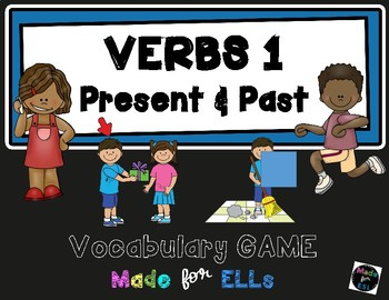 ESL Verb Vocabulary Board Game