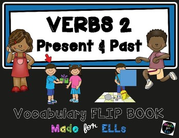 ESL Verbs Vocabulary Flip Books #2