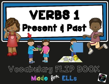 ESL Verbs Vocabulary Flip Books