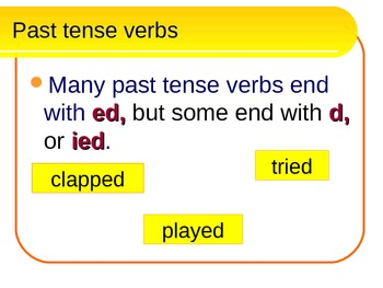 ESL - Verbs an overview of different kinds of verbs