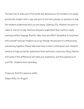 ESL Vietnamese Sentences (ELL - EFL)