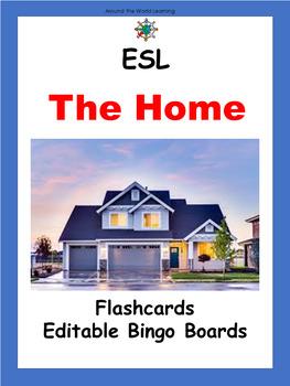 ESL Vocabulary: Flash Cards and Bingo Boards