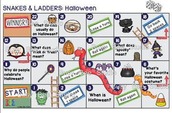 ESL Vocabulary Games: Halloween