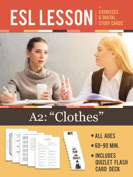 "ESL Vocabulary Lesson | A2 Clothes — ""Packing for a Holiday"""