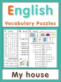 ESL Vocabulary Puzzles  My house