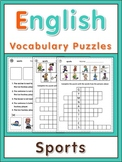 ESL Vocabulary Puzzles  sports