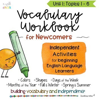 ESL Vocabulary Workbook Unit 1