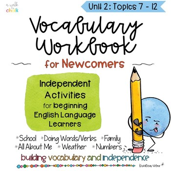 ESL Vocabulary Workbook for Beginners Unit 2