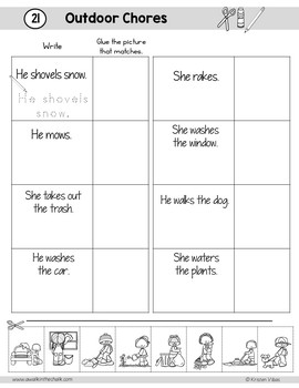 ESL Vocabulary Workbook for Newcomers Unit 4