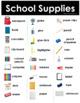 ESL Vocabulary for Beginners: School Supplies