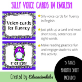 ESL Voice Cards for Fluency in English