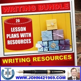 WRITING BUNDLE LESSON PLANS AND RESOURCES
