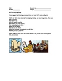 ESL WRITING: Thanksgiving Essay Level 1