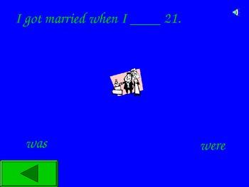 ESL - Was/Were PowerPoint Game