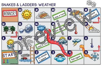ESL Weather Vocabulary Game