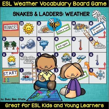 ESL Game | Weather Words