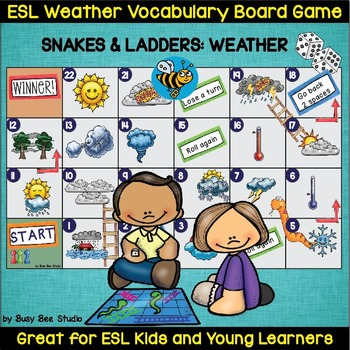 ESL Weather Vocabulary Game