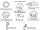 ESL Weather Vocabulary Presentation, Worksheets and Activities