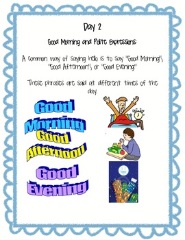 ESL Winter/Summer Camp Lesson Plan with Cooking and Art Activities!