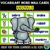 ESL Word Walls: Animals