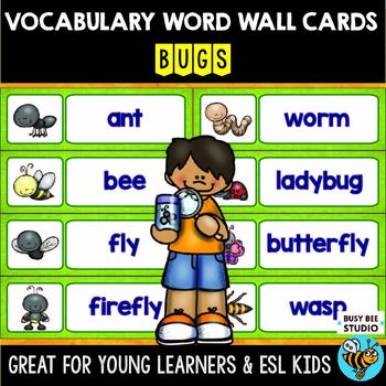 ESL Word Walls: Bugs
