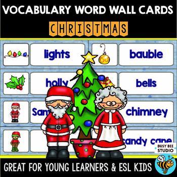 ESL Word Walls: Christmas