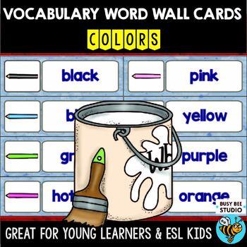 ESL Word Walls: Colors