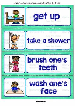 Word Walls for Young Learners and ESL Kids | Daily Routine