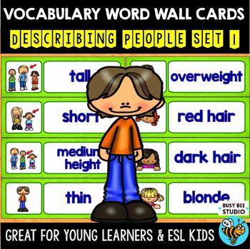 ESL Word Walls: Describing People