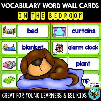 ESL Word Walls: In the Bedroom