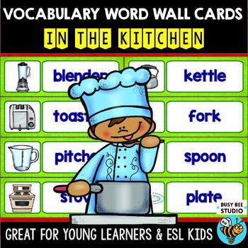 ESL Word Walls: In the kitchen