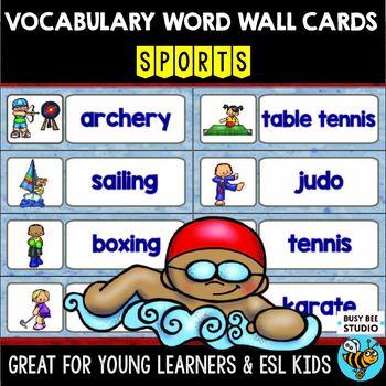 ESL Word Walls: Sports