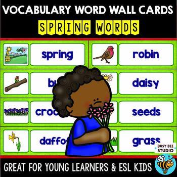 ESL Word Walls: Spring