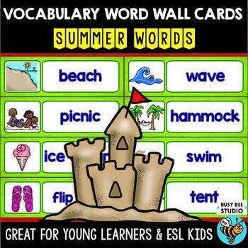 ESL Word Walls: Summer
