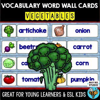 ESL Word Walls: VEGETABLES