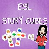 ESL & World Languages Story and Vocab Cubes