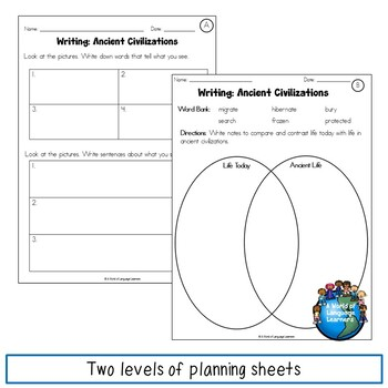 ESL Writing Assessments 2nd and 3rd Grade