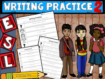 ESL Writing Practice 2 (handwriting/copying)