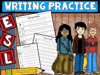 ESL Writing Practice (handwriting/copying)