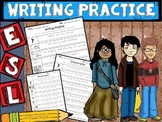 ESL Writing Practice (handwriting/copying)