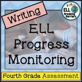ESL Writing Progress Monitoring, Fourth Grade